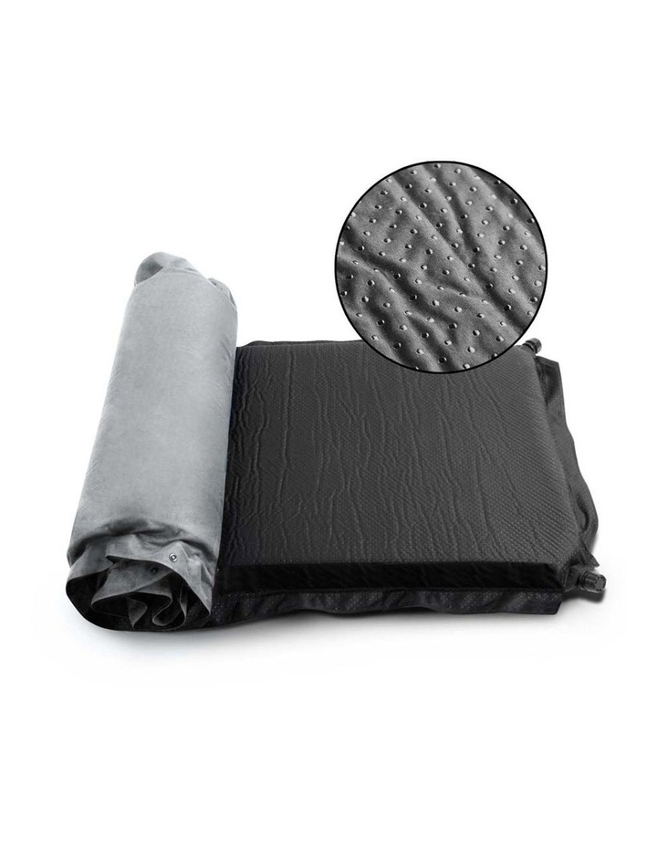 Self Inflating Mattress Single Size in Grey image 5