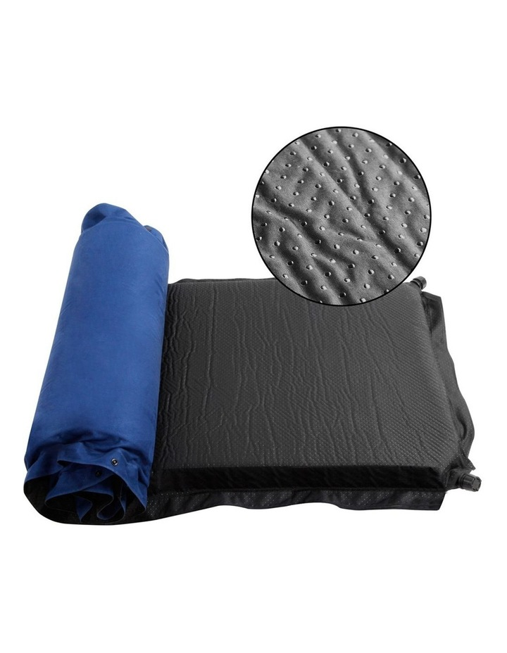 Self Inflating Mattress Single Size in Blue image 3
