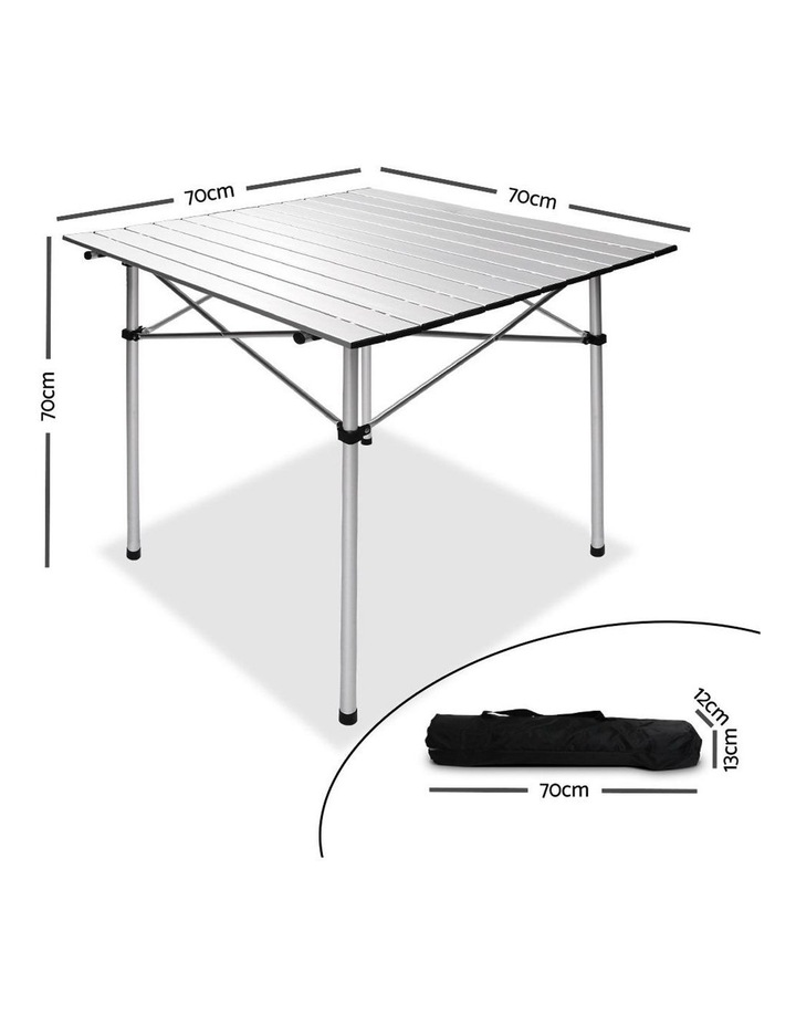 Portable Roll Up Folding Camping Table image 2