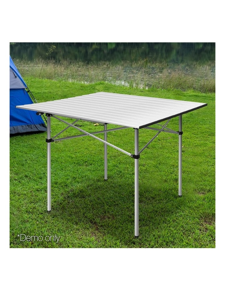 Portable Roll Up Folding Camping Table image 3