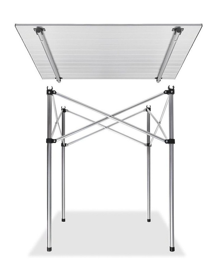 Portable Roll Up Folding Camping Table image 4