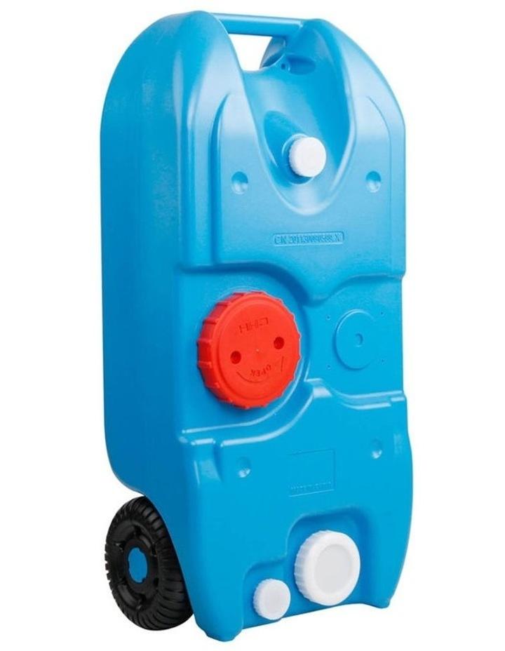 40L Portable Wheel Water Tank - Blue image 1