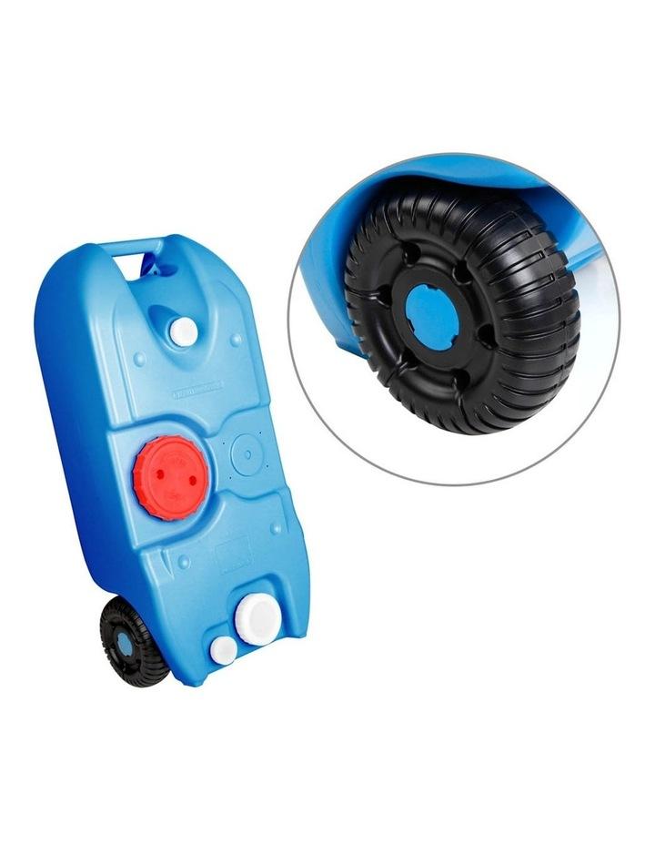 40L Portable Wheel Water Tank - Blue image 3