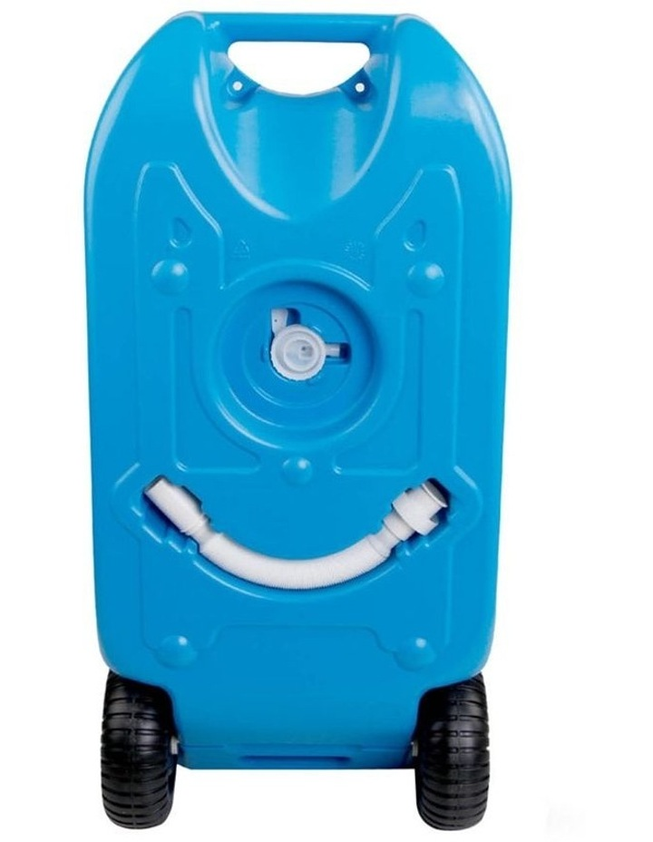 40L Portable Wheel Water Tank - Blue image 4