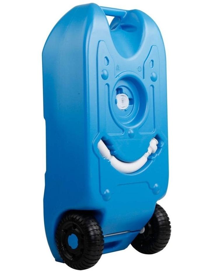 40L Portable Wheel Water Tank - Blue image 6