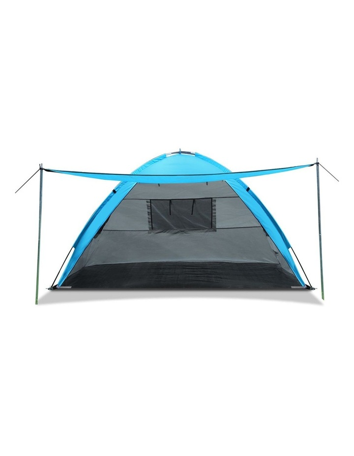 3-4 Person Camping Tent Beach Sun Shade Shelter w/ awning image 3
