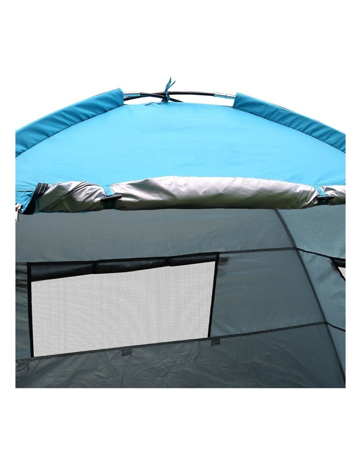 3-4 Person Camping Tent Beach Sun Shade Shelter w/ awning image 6