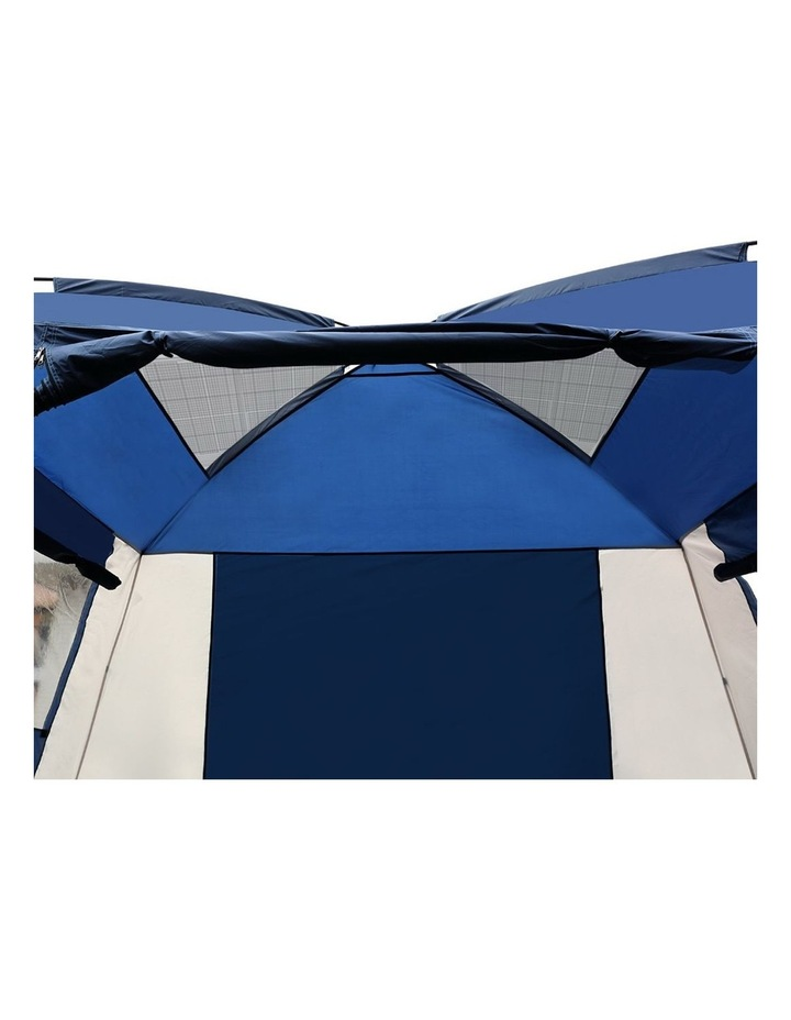 6 Person Dome Camping Tent - Navy and Grey image 6
