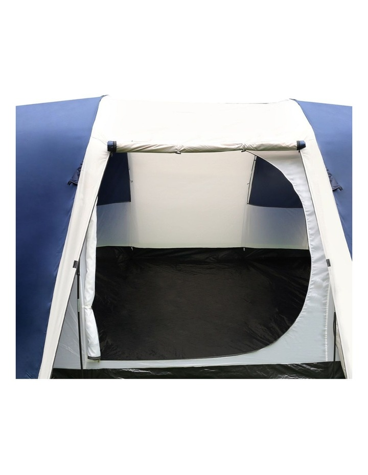 12 Person Canvas Dome Camping Tent - Navy and Grey image 7