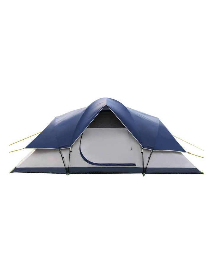 6 Person Family Camping Tent Navy Grey image 3