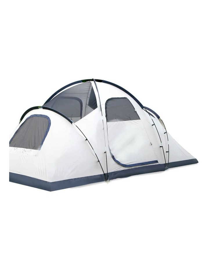 6 Person Family Camping Tent Navy Grey image 4