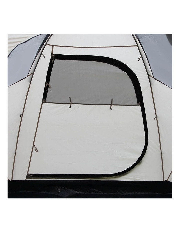 6 Person Family Camping Tent Navy Grey image 5