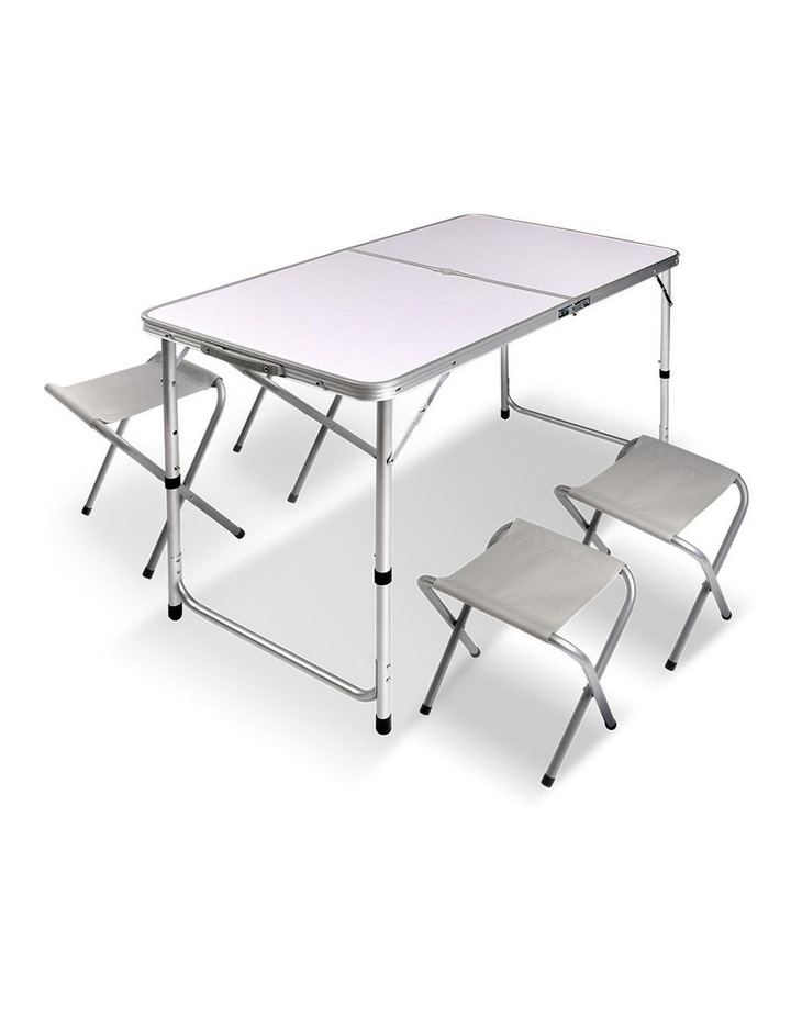 Portable Folding Camping Table and Chair Set image 1