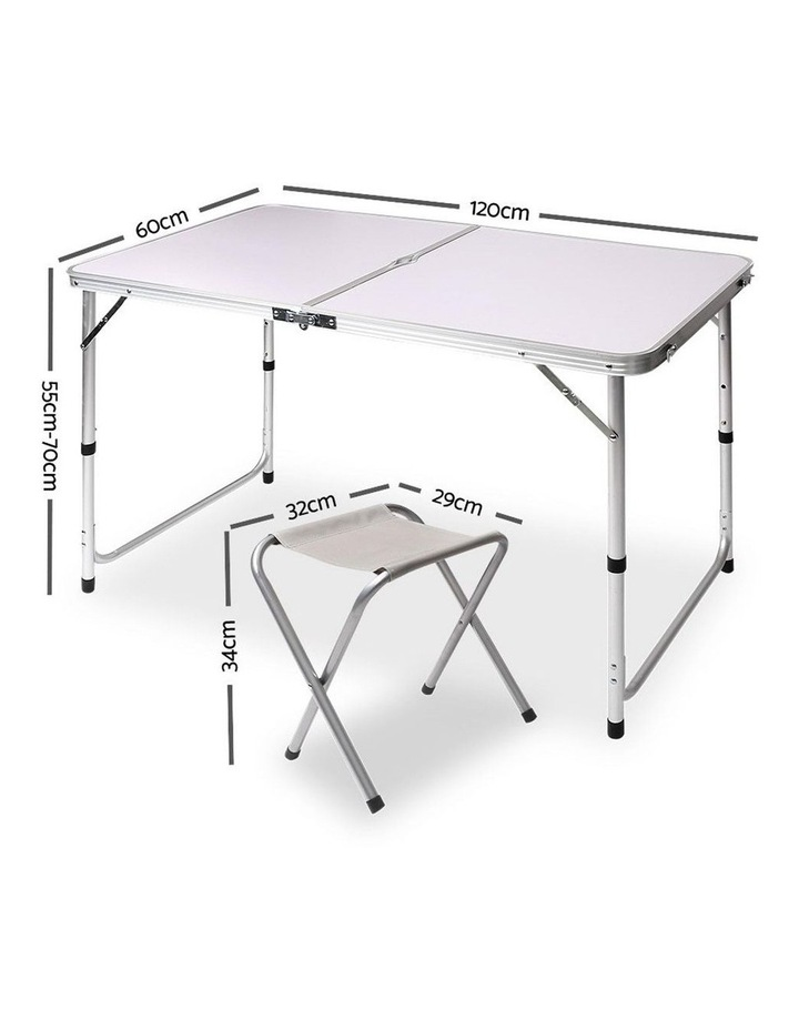 Portable Folding Camping Table and Chair Set image 2