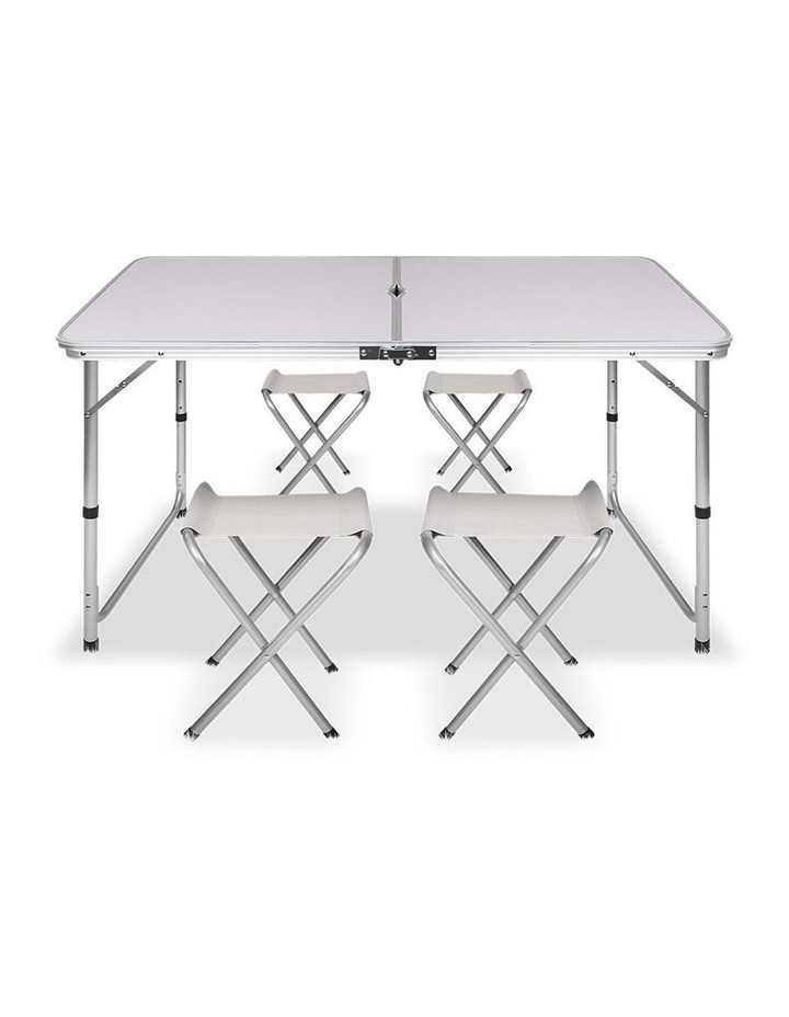 Portable Folding Camping Table and Chair Set image 5
