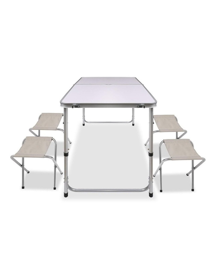 Portable Folding Camping Table and Chair Set image 6