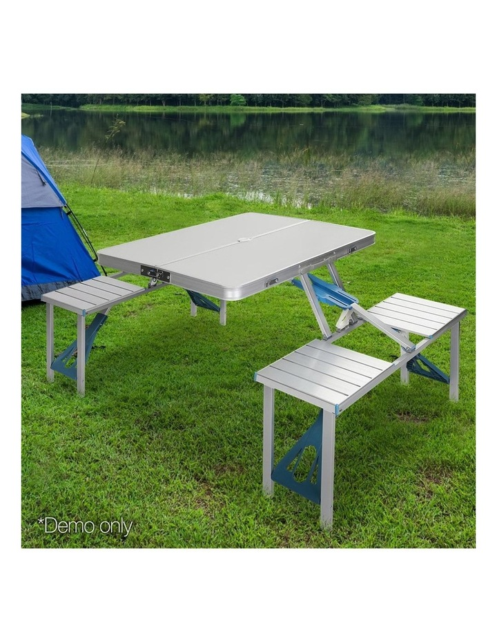 Portable Folding Camping Table and Chair Set image 3