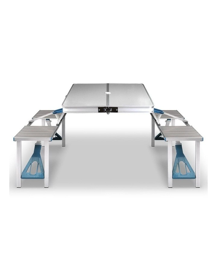 Portable Folding Camping Table and Chair Set image 4