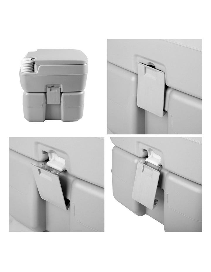 20L Portable Outdoor Toilet - Grey image 3