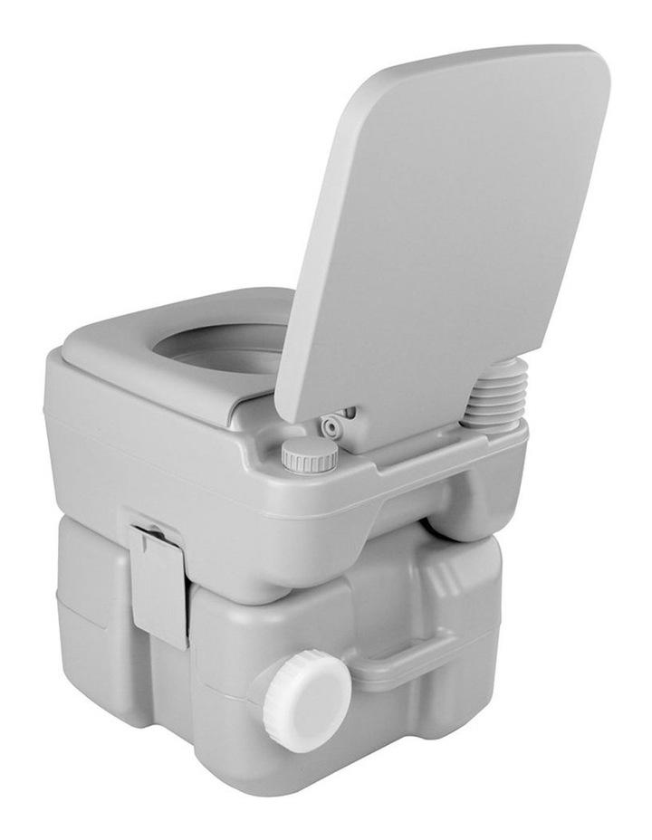 20L Portable Outdoor Toilet - Grey image 4