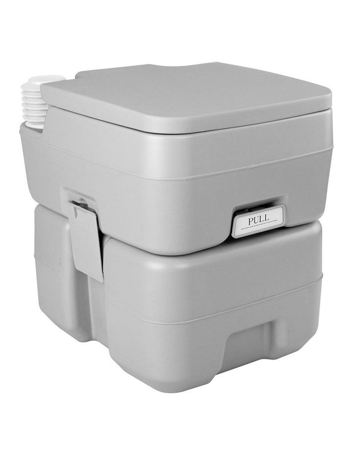 20L Portable Outdoor Toilet - Grey image 5