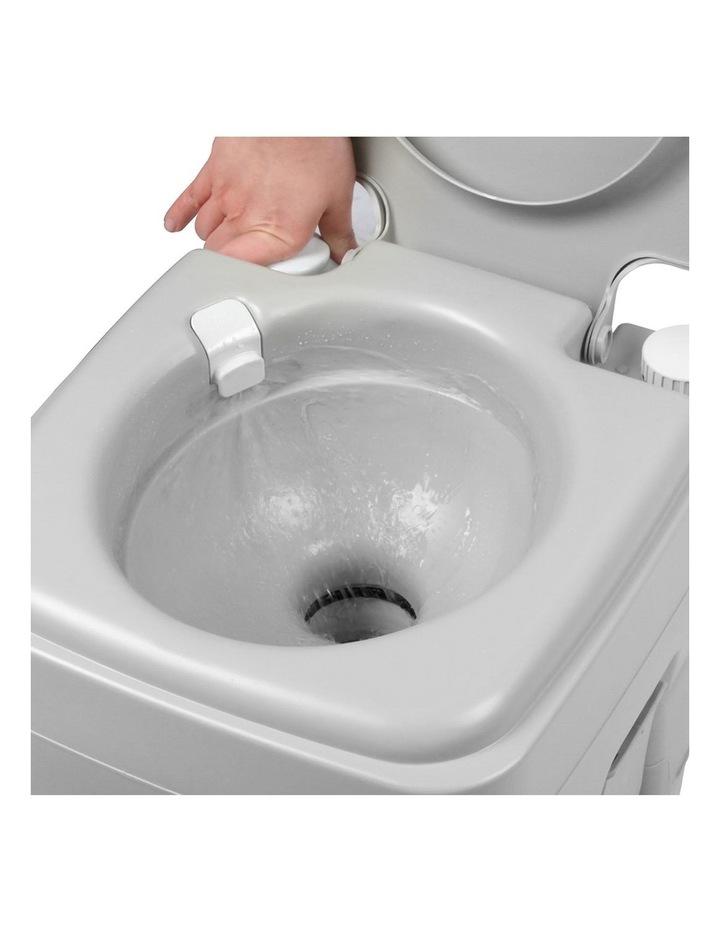 20L Portable Outdoor Toilet - Grey image 7