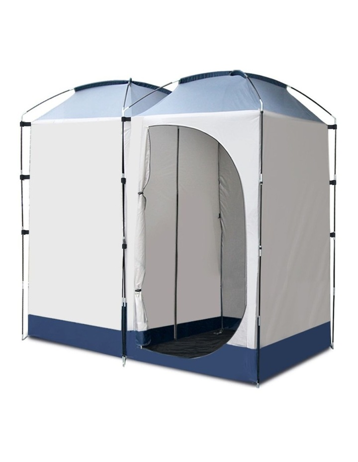 20L Outdoor Portable Toilet Camping Shower Tent Ensuite Change Room image 3