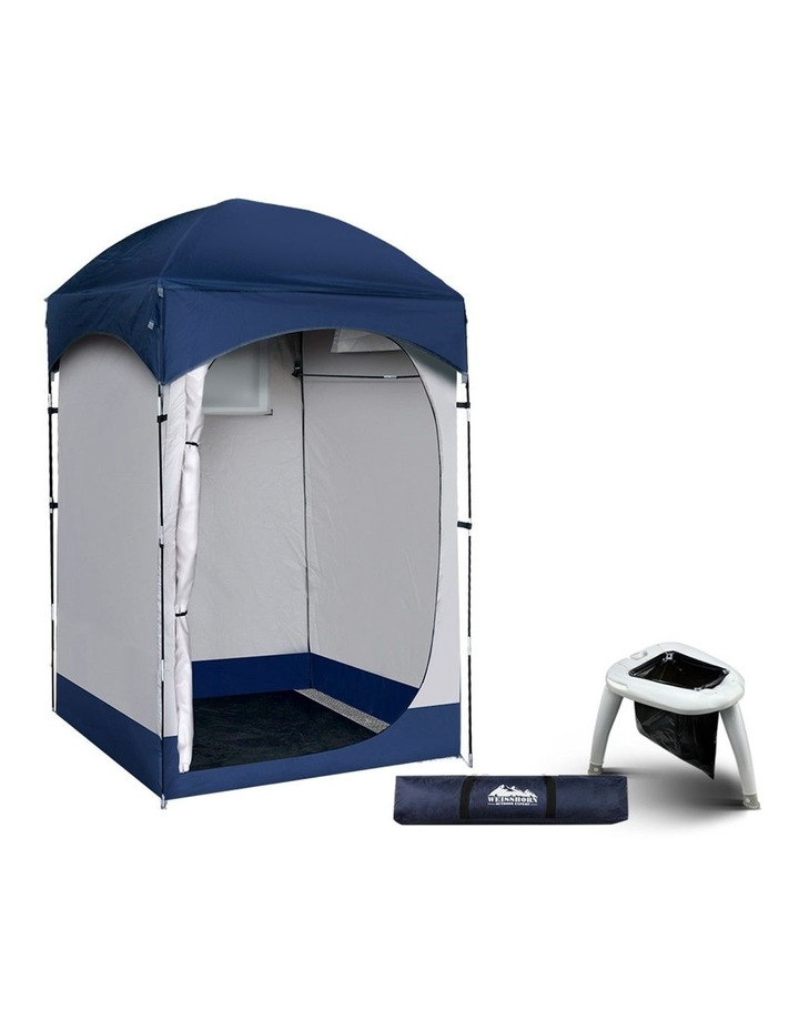 Camping Shower Tent Portable Toilet Outdoor Change Room Ensuite image 1