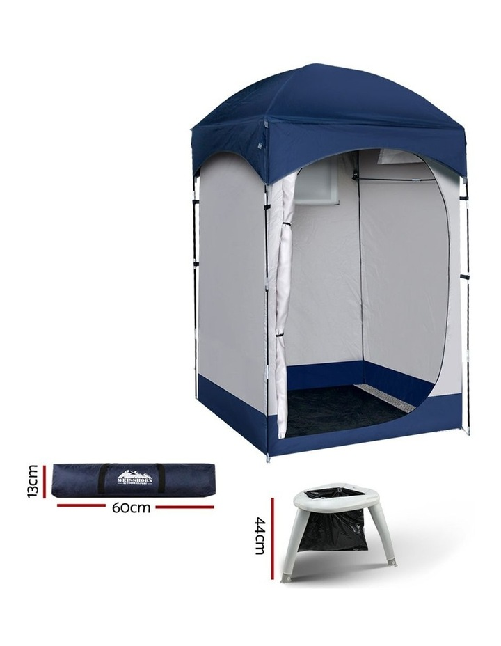 Camping Shower Tent Portable Toilet Outdoor Change Room Ensuite image 2