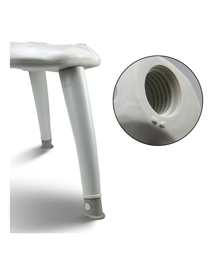 Portable Folding Outdoor Camping Toilet in Grey image 6