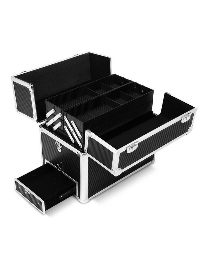 Portable Cosmetic Beauty Makeup Carry Case - Black image 5