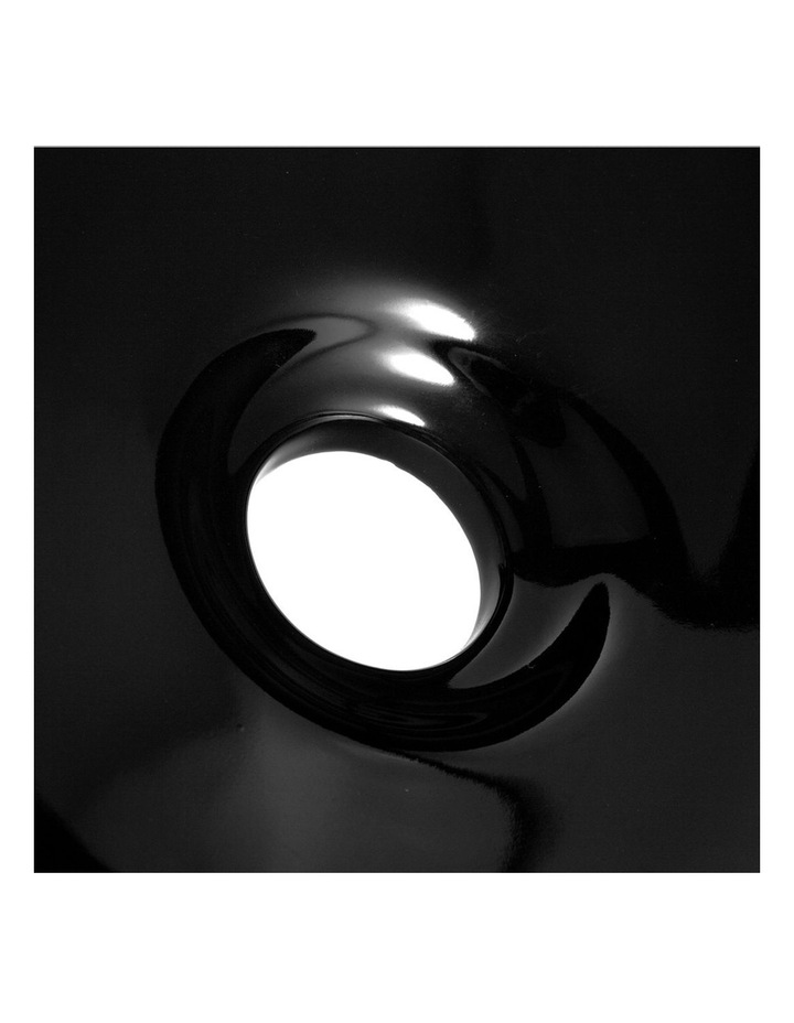 Ceramic Oval Sink Bowl - Black image 7