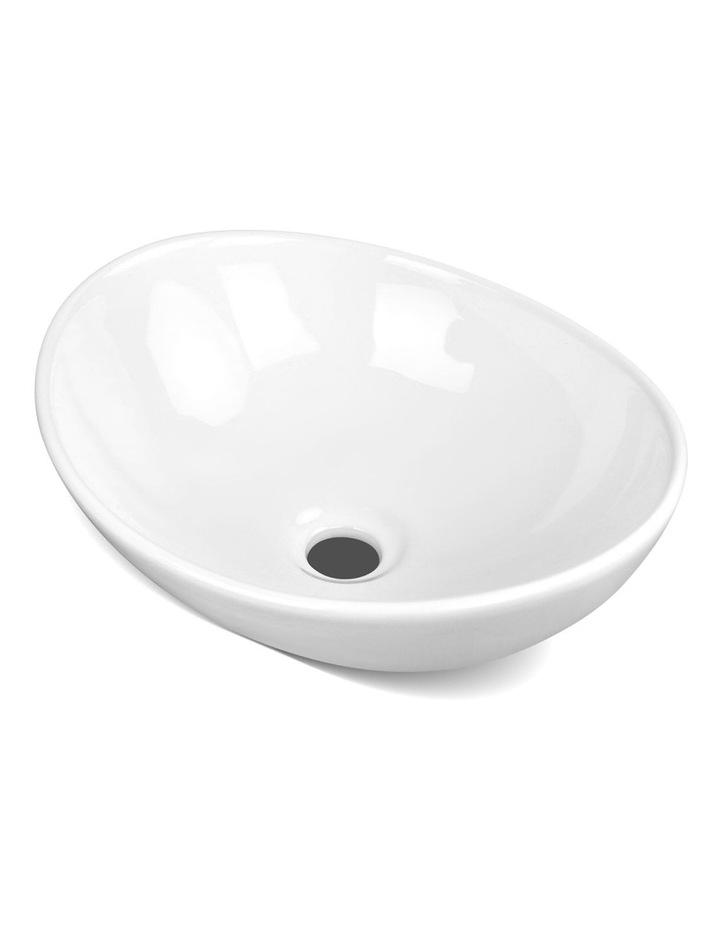 Ceramic Oval Sink Bowl - White image 1