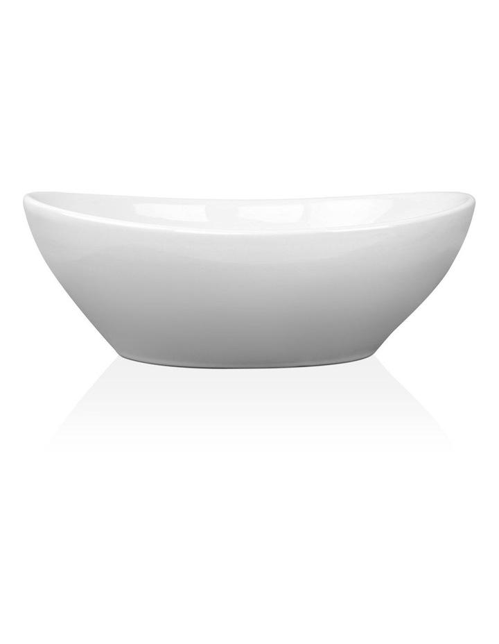 Ceramic Oval Sink Bowl - White image 2
