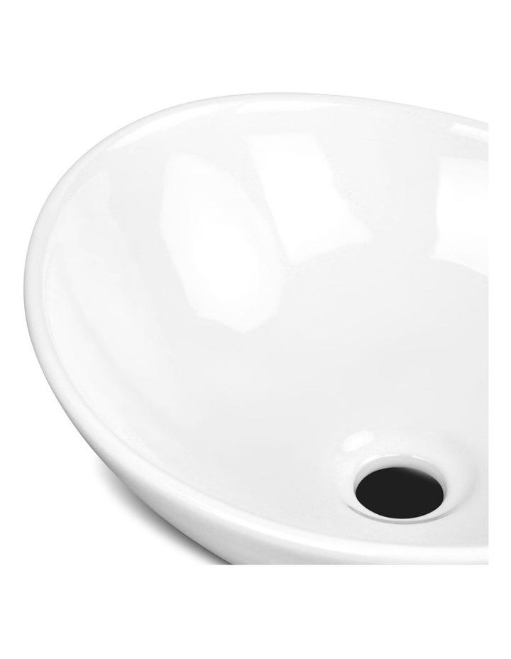 Ceramic Oval Sink Bowl - White image 4