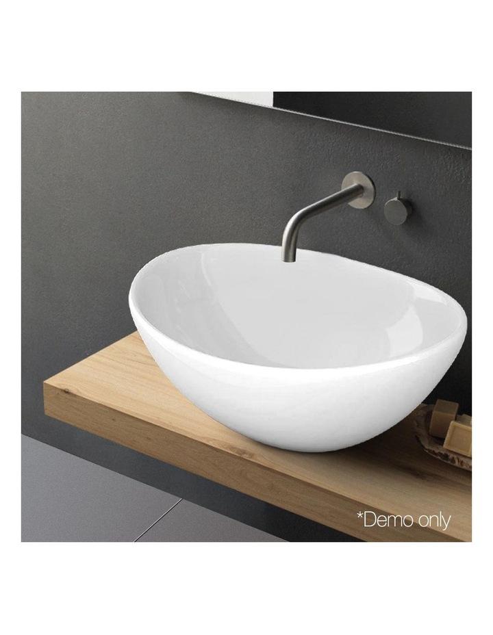 Ceramic Oval Sink Bowl - White image 6