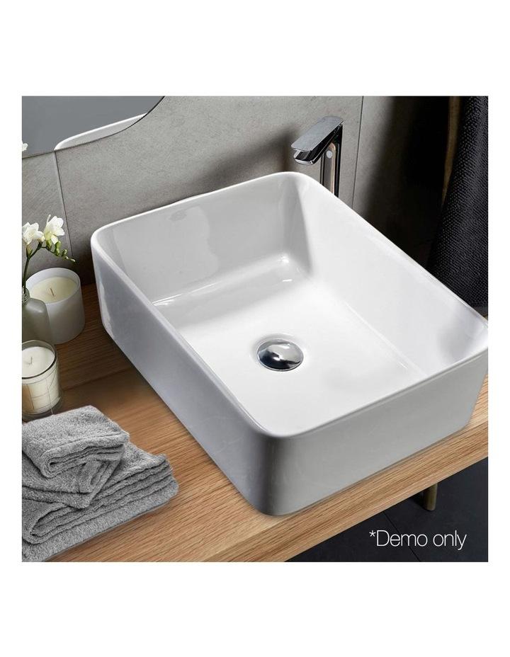 Ceramic Rectangle Sink Bowl - White image 5