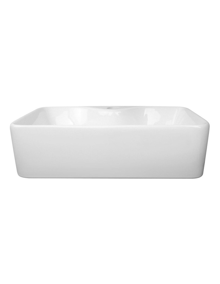 Ceramic Rectangle Sink Bowl - White image 3