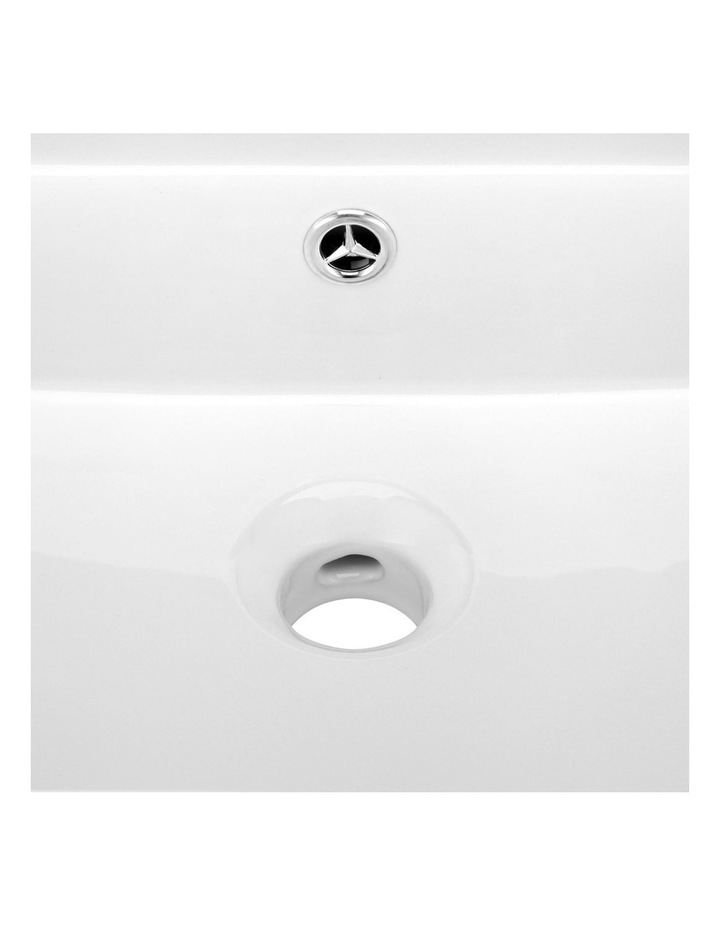 Ceramic Rectangle Sink Bowl - White image 4