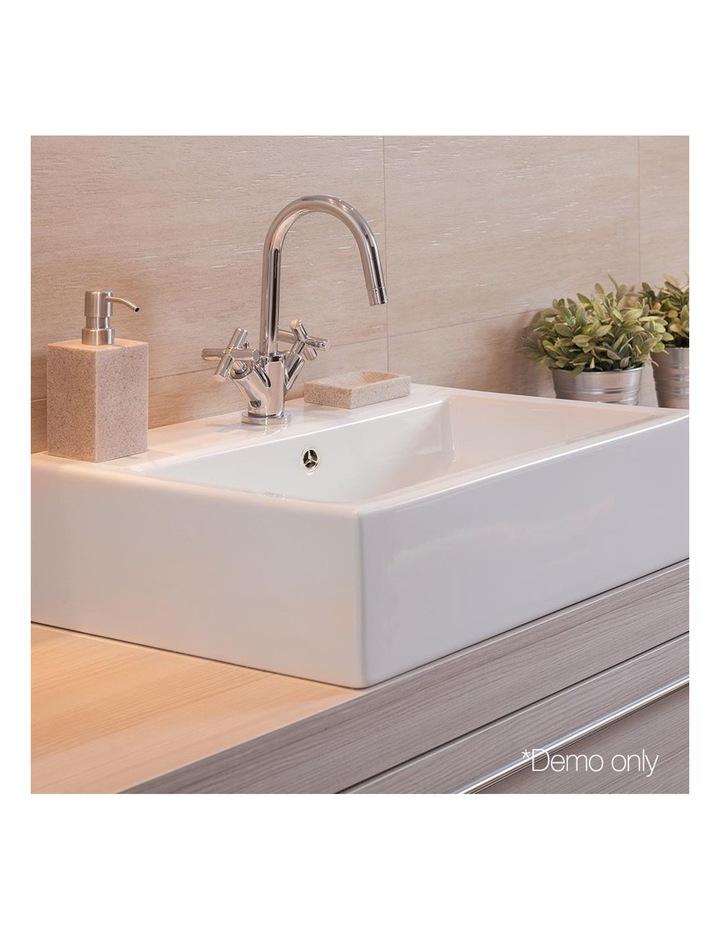 Ceramic Rectangle Sink Bowl - White image 6