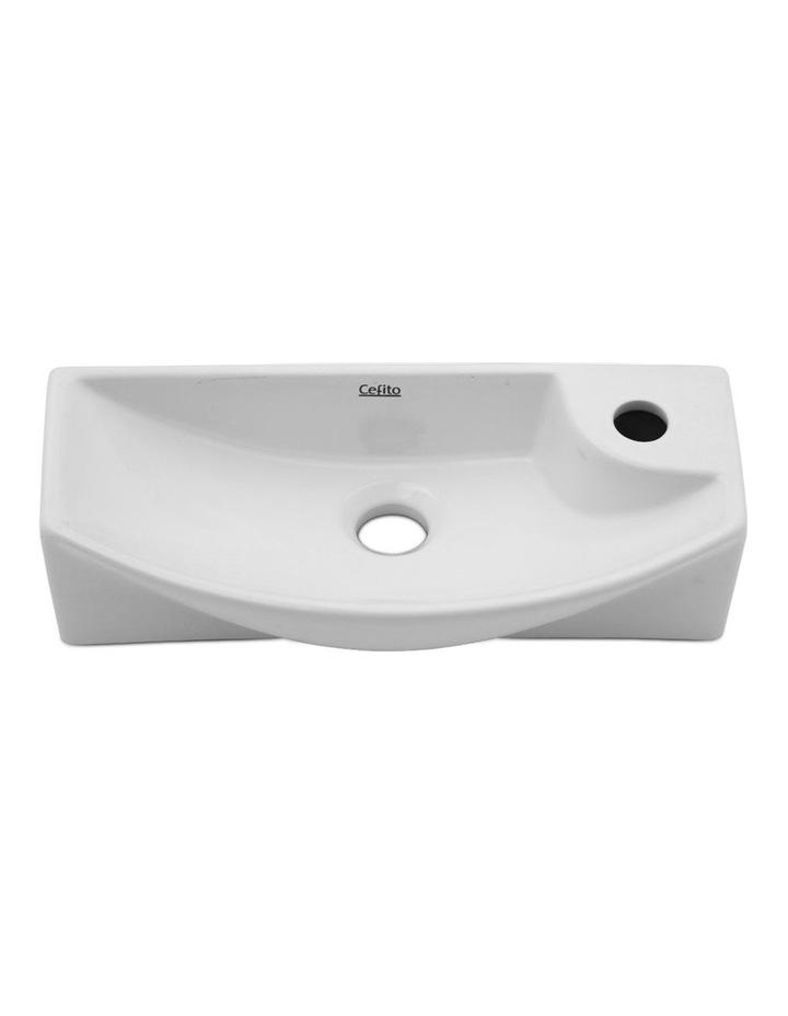 Ceramic Bathroom Basin - White image 3