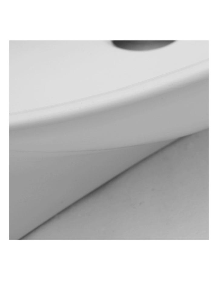 Ceramic Bathroom Basin - White image 5