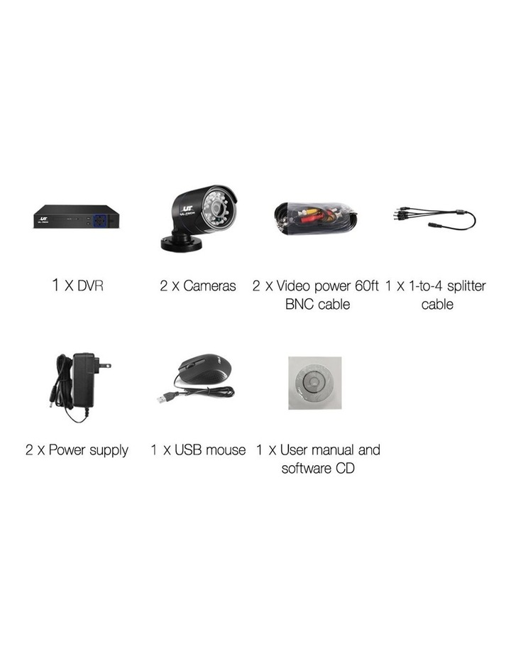 720P 4 Channel CCTV Security Camera image 2