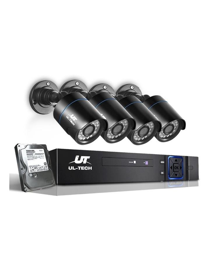 CCTV Security   4 Camera Sets image 1