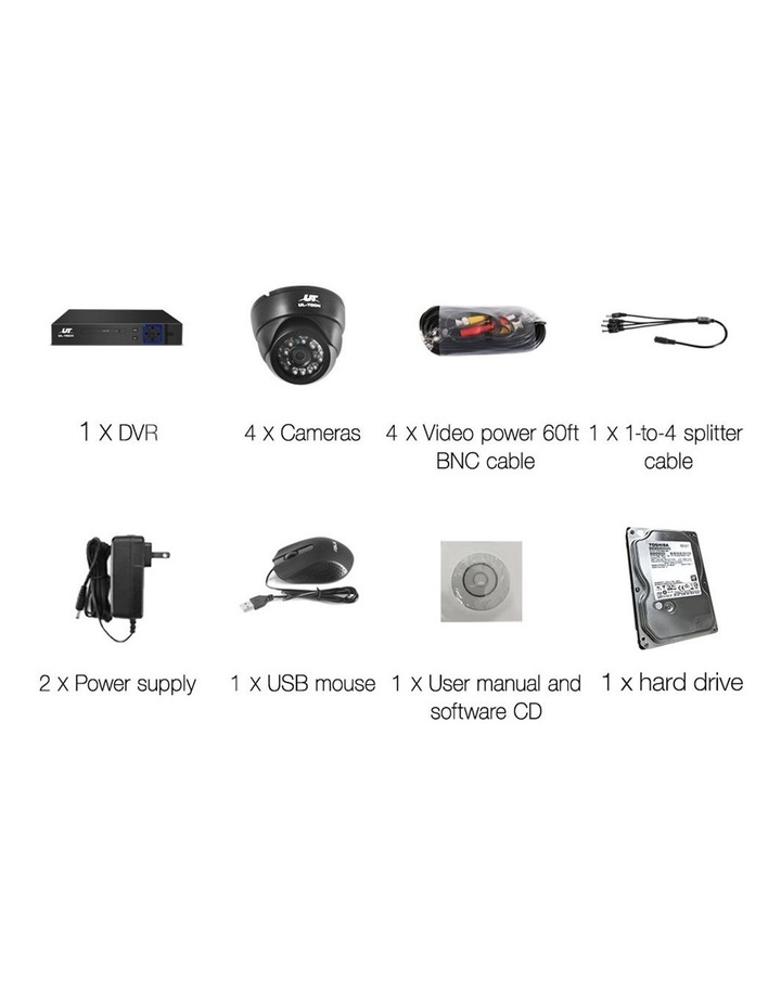 1080P CCTV Security Camera HDMI 8CH DVR Video Home Outdoor IP System image 2