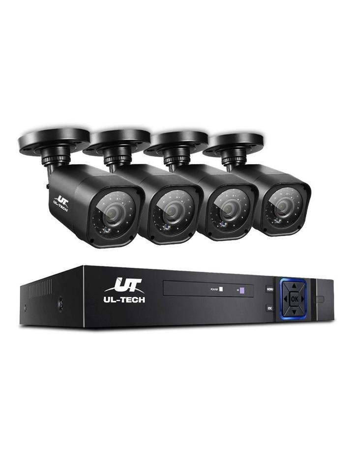 CCTV Security 4 Cameras 1080P Video Home Outdoor IP image 1