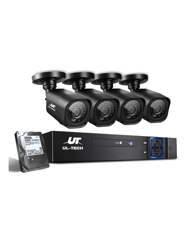 CCTV Security  2TB 8CH DVR 1080P 4 Camera Sets image 1