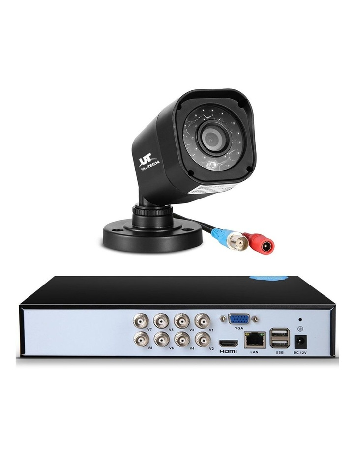 CCTV Security  2TB 8CH DVR 1080P 4 Camera Sets image 3