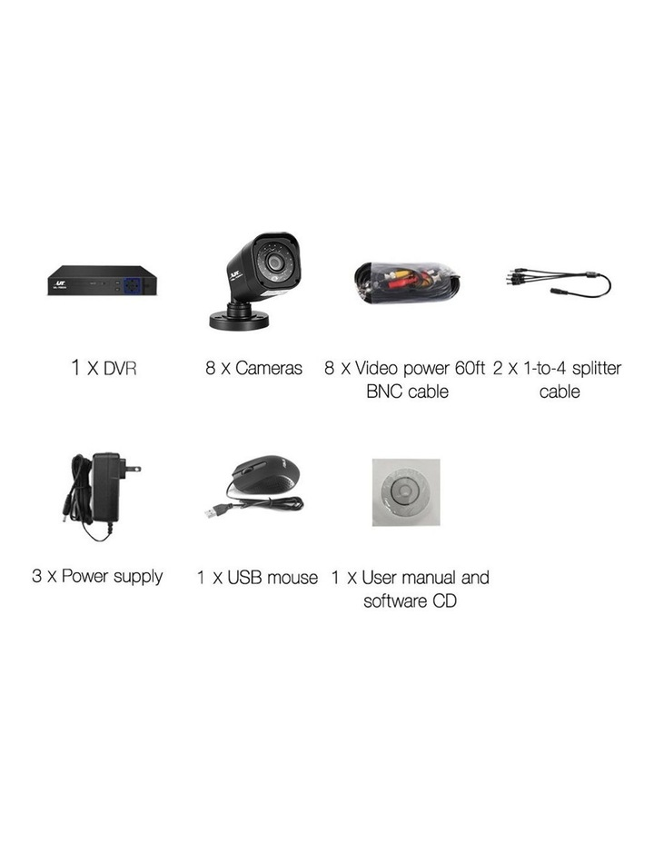 CCTV Security 8 Cameras 1080P Video Home Outdoor IP image 2