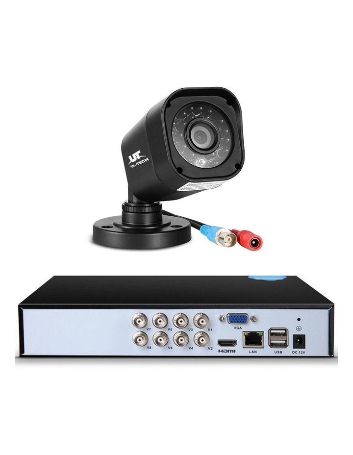 1080P 8-Channel Outdoor CCTV Security Camera with 2TB Hard Drive (8 Square Cameras) image 3